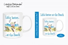 Mug - Life's Better At The Beach