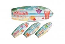 Wall Plaque - Surfboard Shape