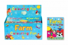 Colouring Fun Pad - Farm