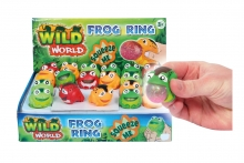 Squeezy Frog Ring