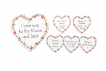 Fridge Magnet - Message Heart