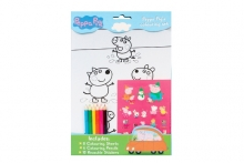 Colouring Set - Peppa Pig