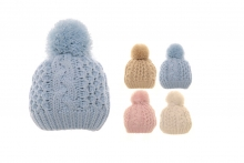 Bobble Hat - Younger Girls