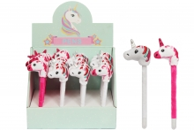 SOFT UNICORN PEN, IN DISPLAY