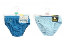 Boys Briefs - 3 Pairs, Assorted
