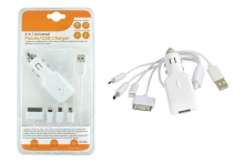 Charger - 4 in 1, 12V or USB