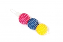 Paddle Bat Balls - 3, Netted