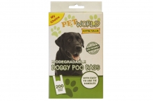 Dog Clean Up Bags - Biodegrable