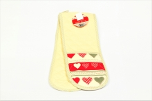 Oven Gloves - Heart Design