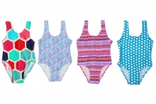 Girls Swimsuit - Assorted, Age 8-13