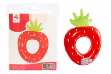Strawberry Swim Ring - 43""