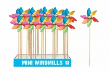 Mini Wood Windmill - In Display