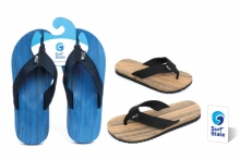 Flip-flops - Mens, 'Wood Look'