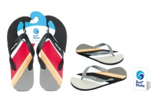 Flip-flops - Mens, Deluxe Striped