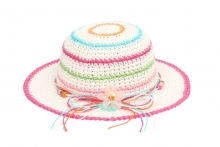 Girls Crushable Straw Hat
