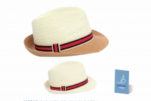 Adults Crushable Straw Trilby