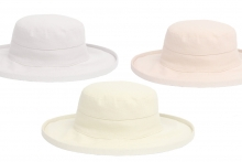 Ladies Linen Sun Hat