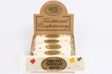 Nougat Bar - Fruity, In Display