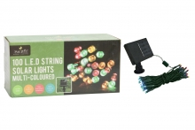 Solar Lights - 100 LED, on String