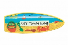 Magnet - Surfboard Beach, Named