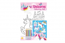 Colouring Set - Unicorn