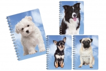 3D Lenticular Notebook - Dogs