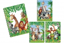 3D Lenticular Notebook - Safari