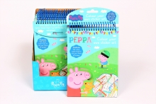 Colour You Own Sticker - Peppa Pig