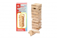 Wood Tumbling Tower Game