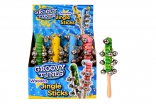 Wooden Jingle Sticks