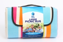 Picnic Rug - Deluxe Striped