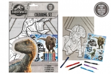 Dinosaur - Jurassic World Colouring Set