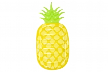 Pineapple Air bed 75 Inches
