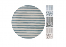 Plate - Bamboo Spots/Stripes
