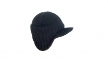 Mens Beanie Hat with Peak