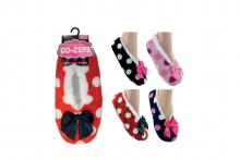 Ladies Sherpa Lined Slippers