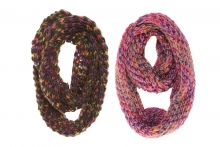 Ladies Chunky Knit Scarf