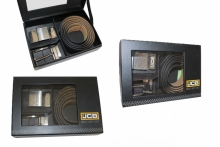 Mens Belt Gift Set - JCB