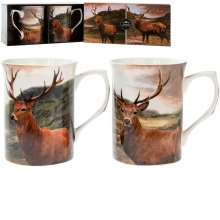 Stag Mug Set - Boxed