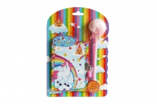 Notepad Set - Unicorn, carded