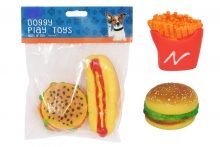 Dog Toy - Fast food