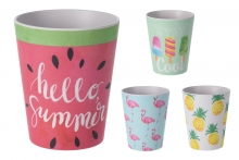Bamboo Cup - Summer Print