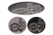 Large Bamboo Plate - BBQ Designs