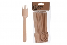 Picnic Forks - Bamboo (20)