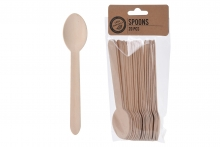 Picnic Spoons - Bamboo (20)