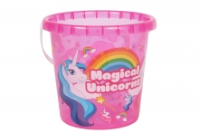 Bucket - Unicorn, Transparent
