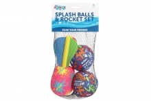 Splash Balls & Rocket Set - Netted