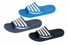 Sliders - Adults, Stripe, Sizes 7 - 11