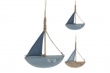 Hanging Yacht - Wood