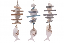 Shell and Driftwood Hanger